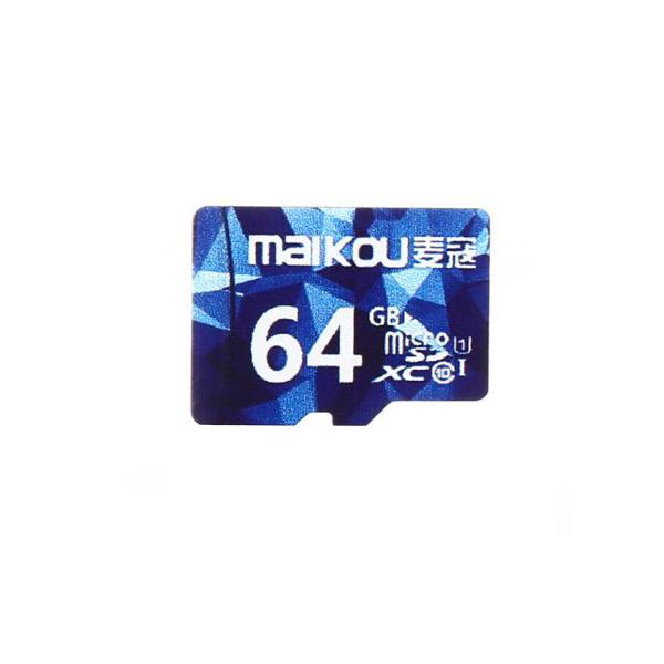 Original Maikou Class10 64G Micro SDXC Memory Card With Micro SD to SD Card Reader Set