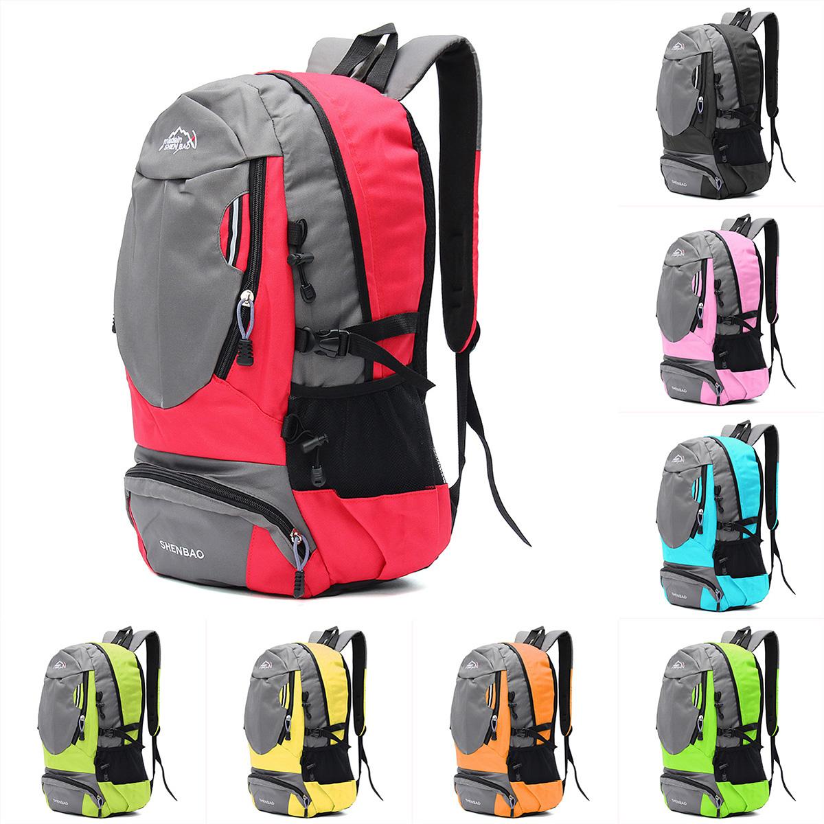 3850c68c50d4 35L Sports Travel Backpack Camping Hiking Unisex Rucksack Shoulder ...