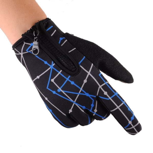 Touch Screen Anti-Skidding Full Finger Gloves For Motorcycle Riding