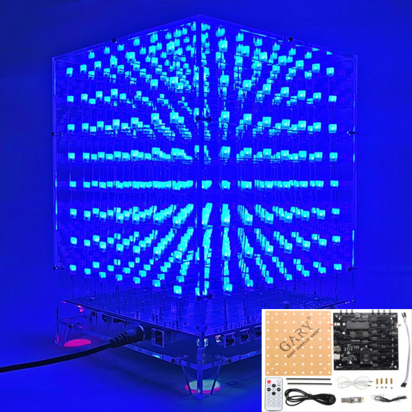 Led Cube moreover Pi Eq in addition C D B D A E Afed Ed E also Led Cube Fin likewise Rgbled Shield. on 8x8x8 led cube arduino