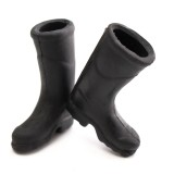 1:12 Black Mini Rain Boot Dollhouse Miniature Furniture Accessories For Dollhouse