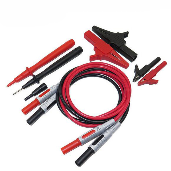 Electronic Test Probes : P a in universal multimeter probe lead banana plug