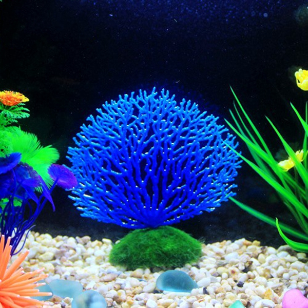 Seabed simulation coral landscape fish tank ornaments for Fish tank coral decorations