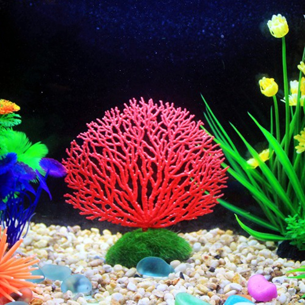 Seabed simulation coral landscape fish tank ornaments for Aquarium coral decoration
