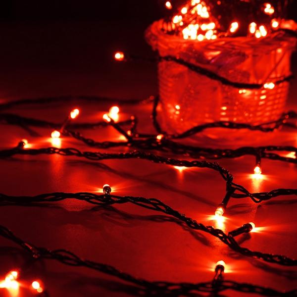 10M 100 LED String Fairy Light Outdoor Christmas Xmas Wedding Party Lamp 220V