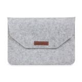 13 Inch Inner Package Phone & Tablet Case Felt Bag for iPhone 7 Plus /  iPhone 7 / 13.3 Inch MacBook Air /  Macbook Retina 13.3 inch (Grey)