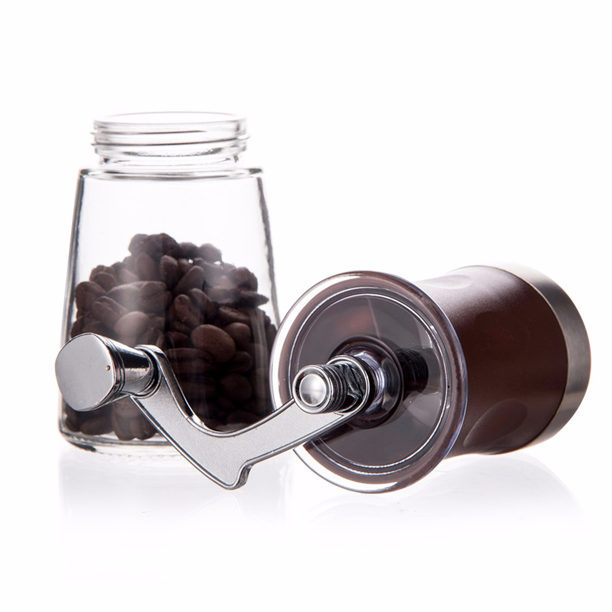 Hand Coffee Grinder ~ Mini portable manual hand crank coffee bean spice