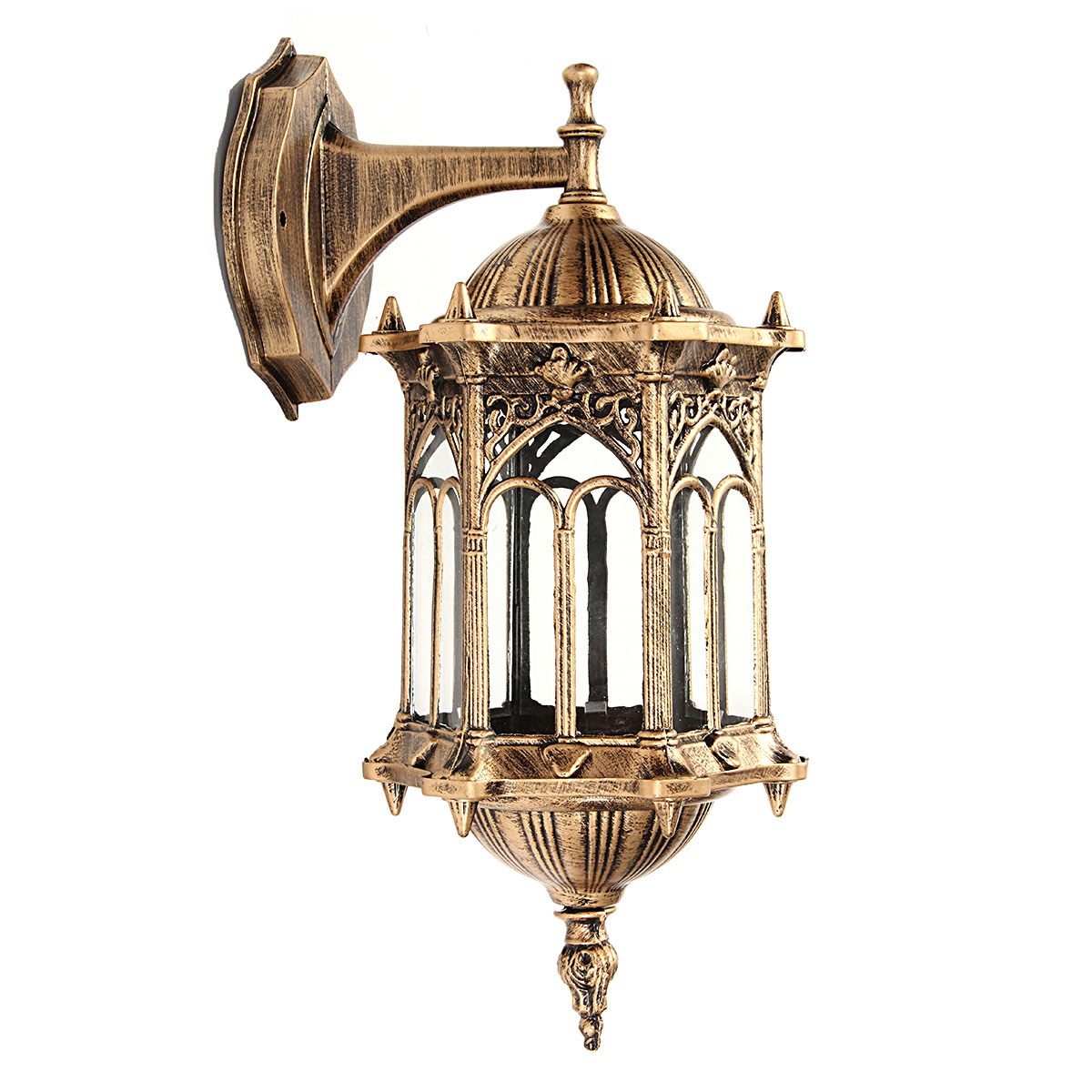 Lighting Products: Outdoor Bronze Antique Exterior Wall Light Fixture