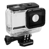 For GoPro HERO5 Skeleton Housing Protective Case Cover with Buckle Basic Mount & Lead Screw