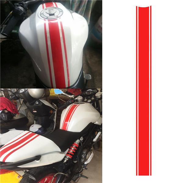 Motorcycle Tank Fairing Cowl Vinyl Stripe Pinstripe Decal Sticker - Vinyl stripes for motorcycles