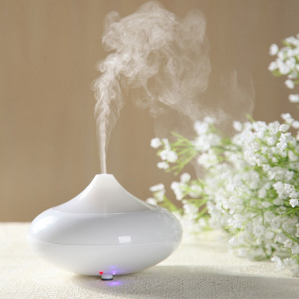 100-240V LED Color Changing Ultrasonic Humidifier Air Purifier Aroma Essential Oil Mini Diffuser