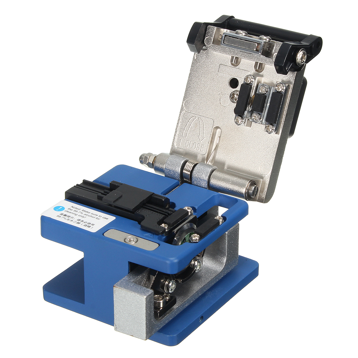 FC-6S Fiber Optic FTTH Tool Kit Fiber Cleaver Power Meter Visual Finder Locator