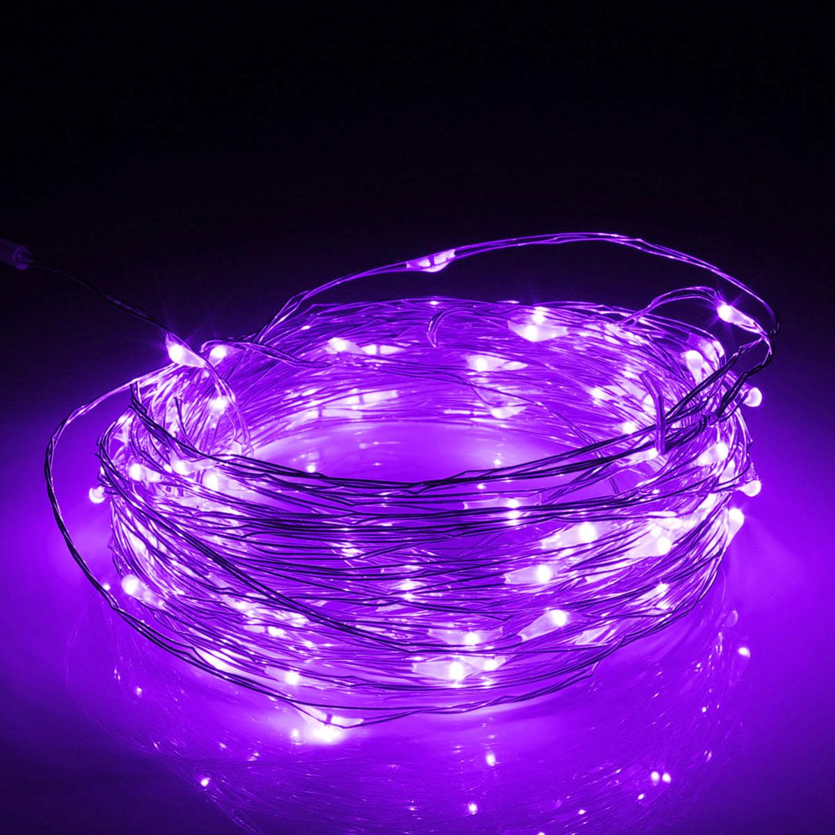 13M 120LED Outdoor Solar Power Sliver String Fairy Light Wedding Party Xmas Garden Lamp IP67
