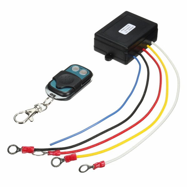 12V 15m 50ft Wireless    Recon    Recovery Winch Remote Controller For Truck Jeep SUV ATV   Alexnld