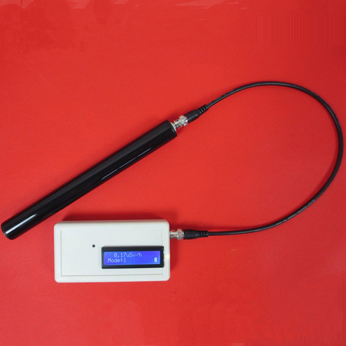 GMV2 Portable Handle Geiger Counter Assembled Nuclear Radiation Detector γ β X Ray with Miller GM Tube
