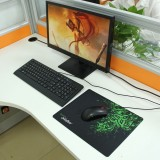 Slim Anti-Slip Razer Pattern Soft Rubber Smooth Cloth Surface Game Mouse Pad Mat, Size: 317 x 244 x 2 mm