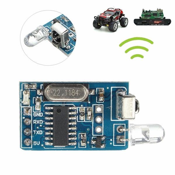Fm Remote Encoder And Decoder Circuit Diagram