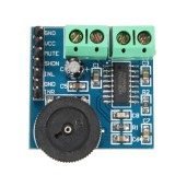 5V PAM8403 3W*2 Dual Channel Audio Amplifier Module Class D Power Volume Adjustable