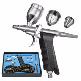 Dual Action Airbrush Gun Kit Pneumatic Gun Set with Airbrush Hose and Spray Gun
