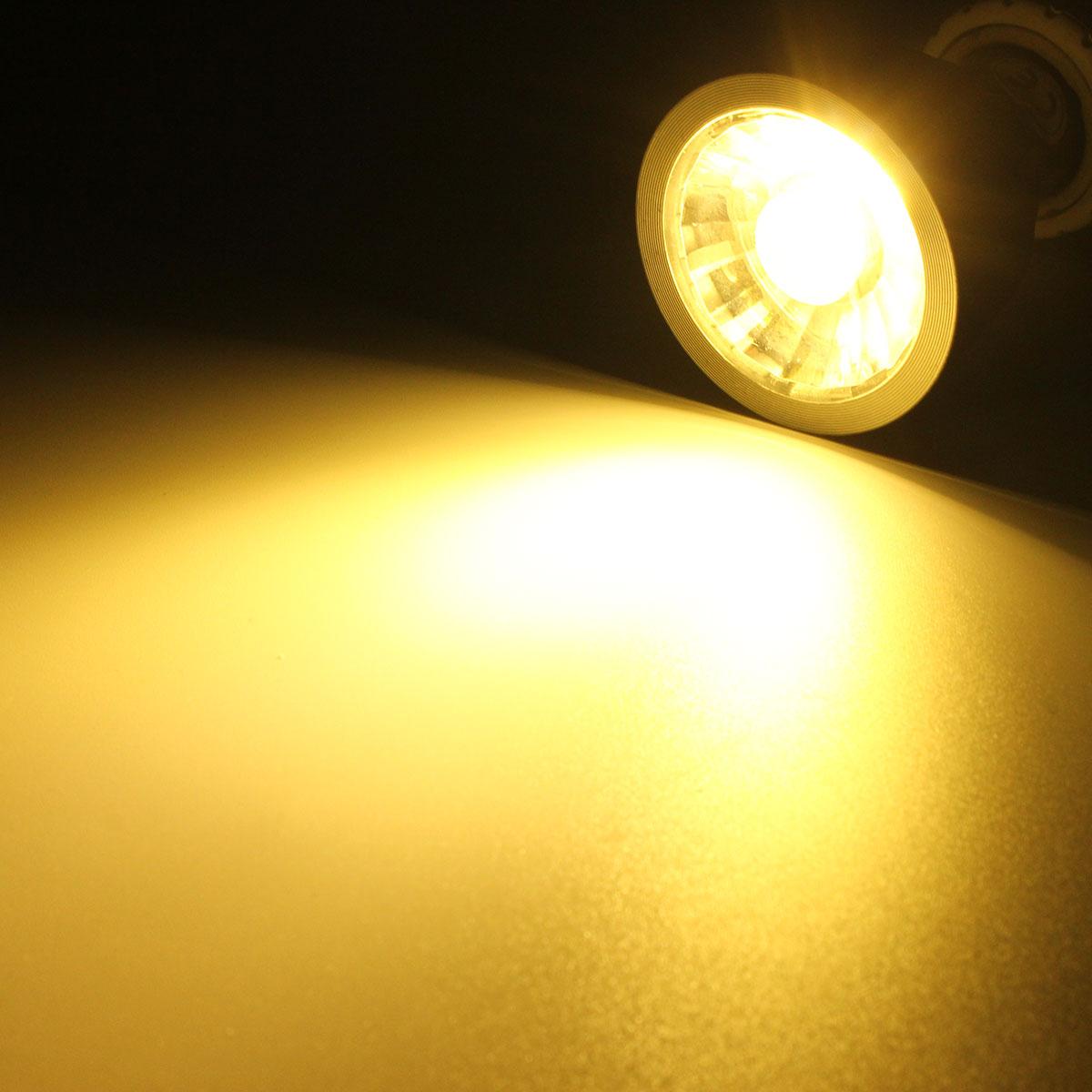 Ultra Bright LED 7W Pure White Warm White Natural White COB LED Spotlight Light Bulb DC12V