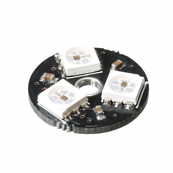 CJMCU-3bit WS2812 RGB LED Full Color Drive LED Light Circular Smart  Development Board For Arduino