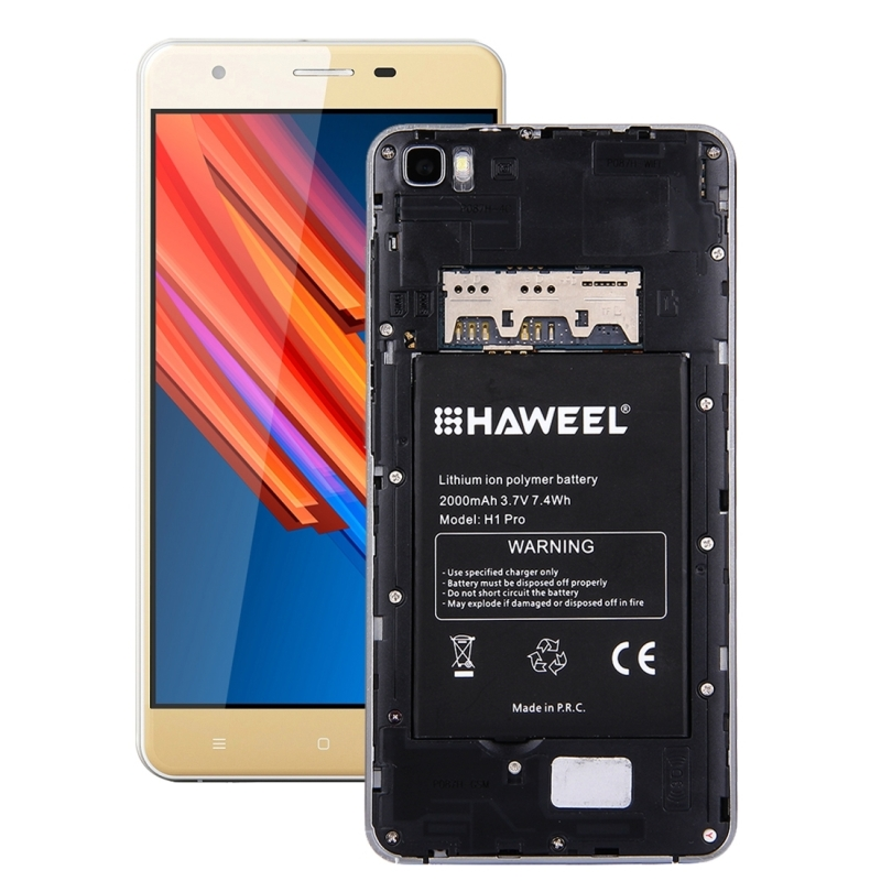HAWEEL H1 Pro Original 2000mAh Rechargeable Li-ion Polymer Battery