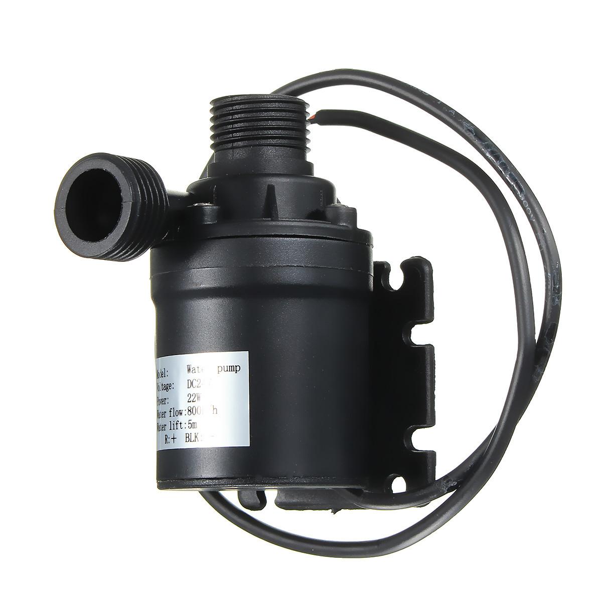 Dc 12v 24v Hot Water Circulation Pump Solar Water Pump