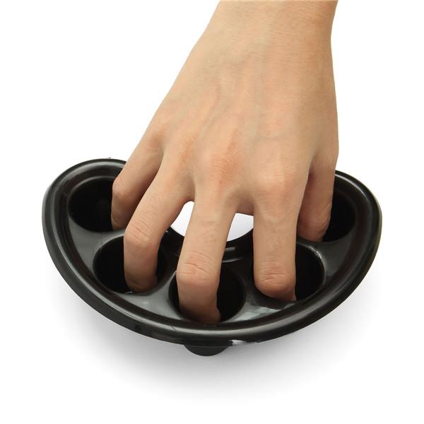 Black Nail Soaker Bowl Soak Finger Treatment Remover Cleaner Manicure Tool Alex Nld