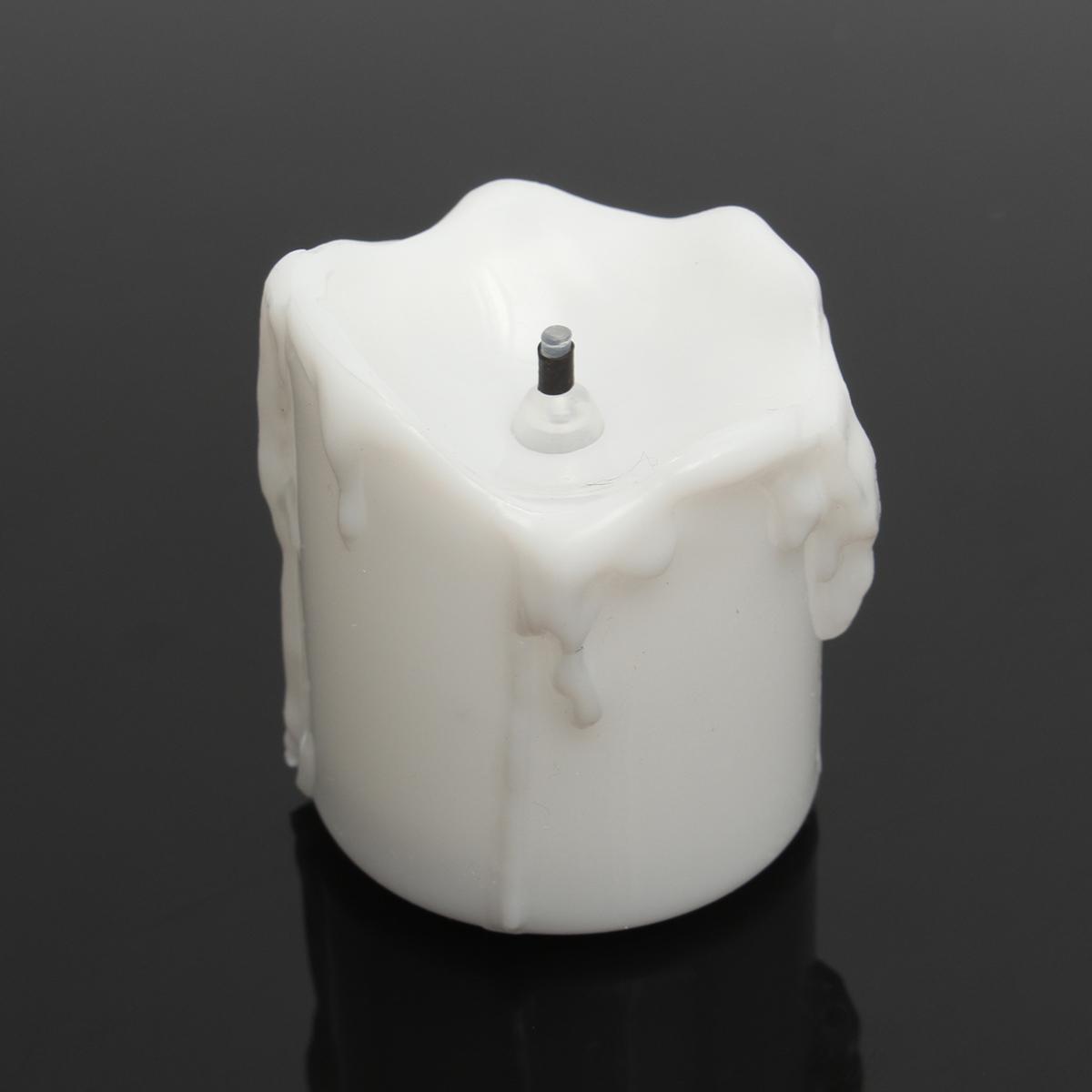 4.3*4.5cm battery powered flameless led candle tea night light