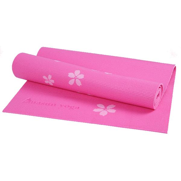 6MM PVC Printed Yoga Mat Non-slip Thicken Foaming Fitness Exercise Mat For Beginner