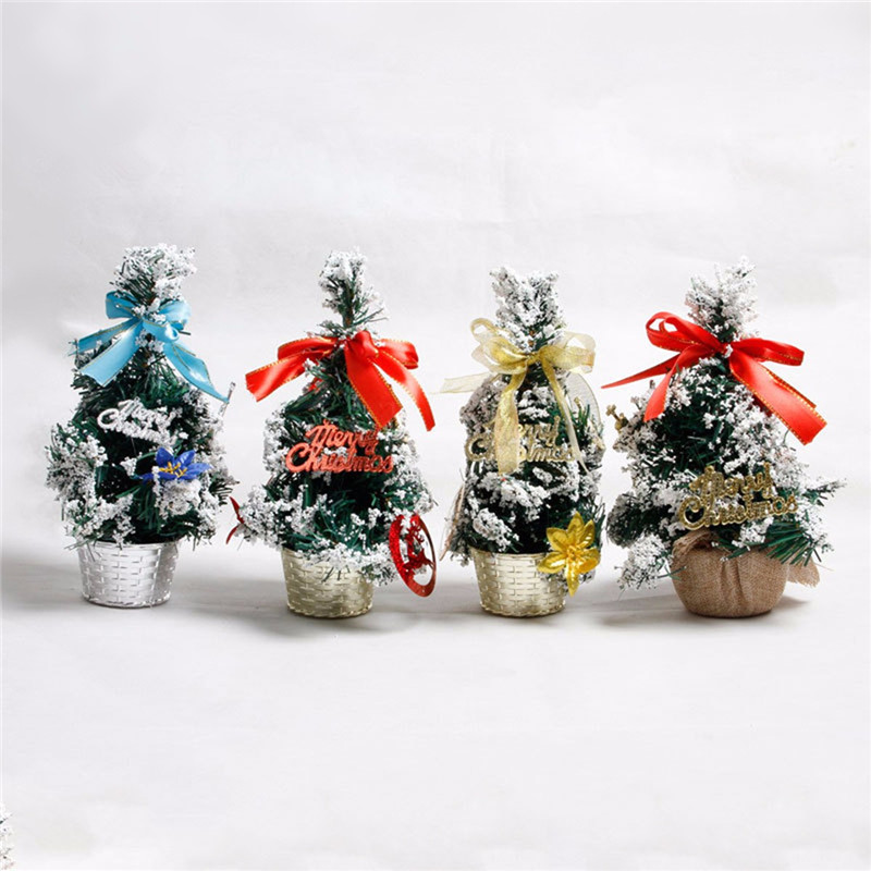 Mini tabletop christmas tree ornament multi patterns for Decor international wholesale
