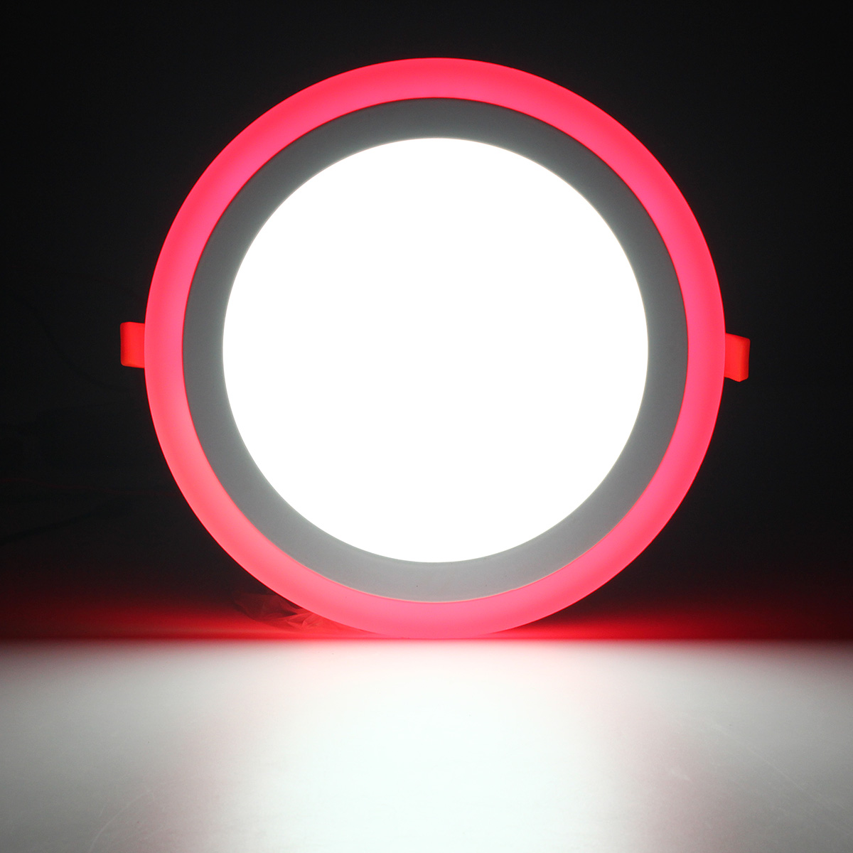 18W RGB Dual Color LED Recessed Ceiling Round Panel Down ...