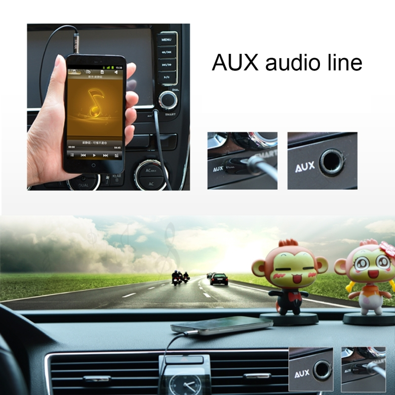 3.5mm Jack Male to Male Plug Stereo Audio AUX Retractable Coiled Cable with Metal Spring for iPhone, iPad, Samsung, MP3, MP4, Sound Card, TV, Radio-recorder, etc.Coiled Cable Stretches to 1.6m (Black)