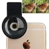 ZOMEI Universal 12.5X 37mm Macro Lens Close-up Filter for iPhone, Samsung, HTC, Sony, Huawei, Xiaomi, Meizu
