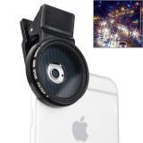 ZOMEI Universal Proffesional Camera Lens 37mm Star 8 Filter for iPhone, Samsung, HTC, Sony, Huawei, Xiaomi, Meizu