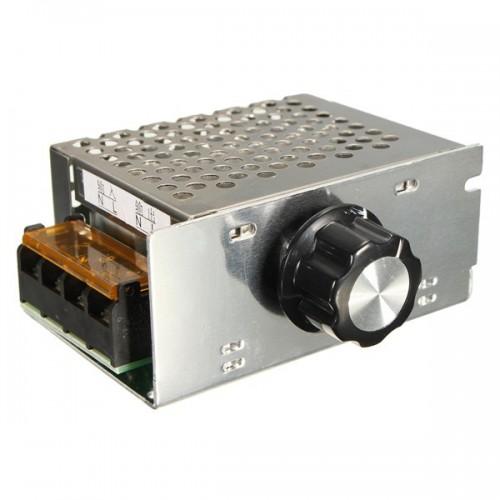 Ac 220v 4000w Scr Voltage Regulator Dimmer Electronic