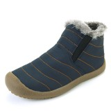 US Size 5-15 Winter Women Cotton Snow Boots Keep Warm Outdoor Plush Flat Shoes