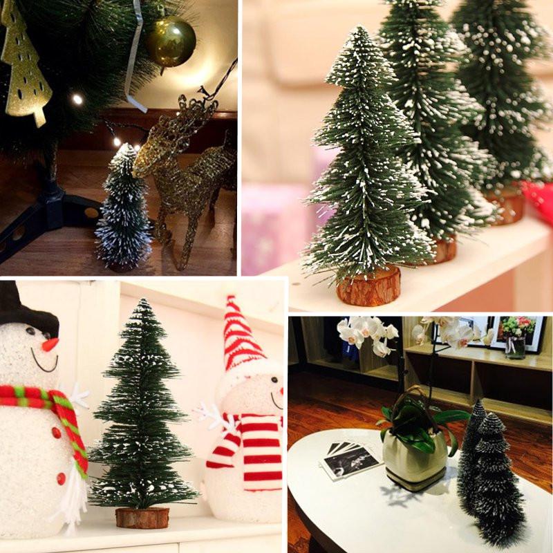 mini christmas tree home wedding decoration supplies tree small pine
