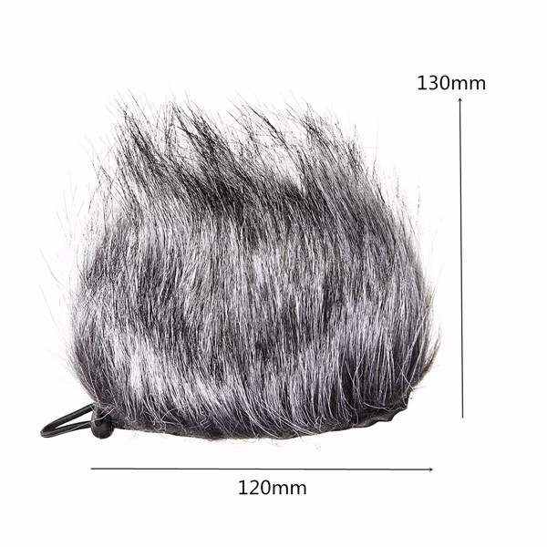 Microphone Muff Fur Windscreen For Sony D50 Zoom H1 H2N H4N Q3 Q3HD Recorder