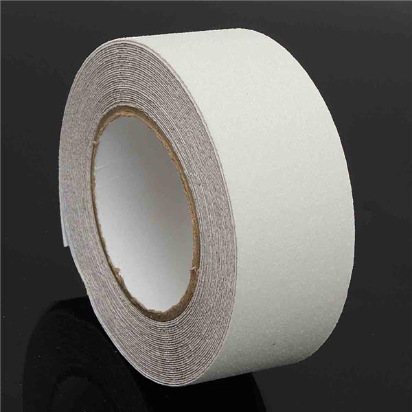 50mm X 10m Pvc White Waterproof Tape Anti Slip Adhesive