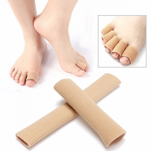 Gel tube toe finger bandage cuttable cover cap protector for 33 fingers salon reviews