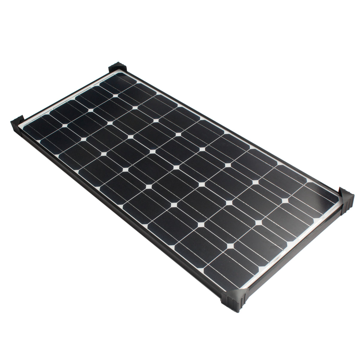 Elfeland Sm 100m 1200x540x30mm 100w Solar Panel For 12v