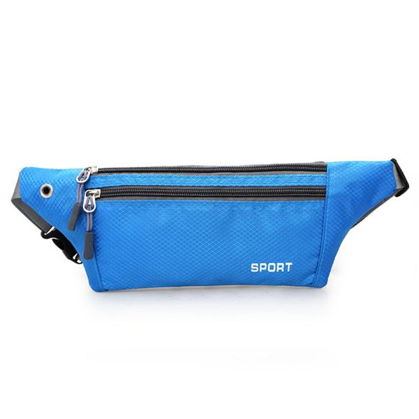 Running Waist Bags Outdoor Sports Zipper Gym Bags Hiking Belt Phone Bags Anti-theft Coin Bags