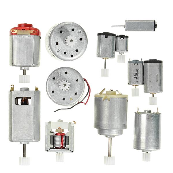 12 Kinds Motor Gear Pack Diy Model Parts Micro Dc Motor