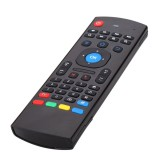 MX3 2.4G Wireless Six Axis Gyroscope Keyboard Remote Control Air Mouse IR Learning with micphone