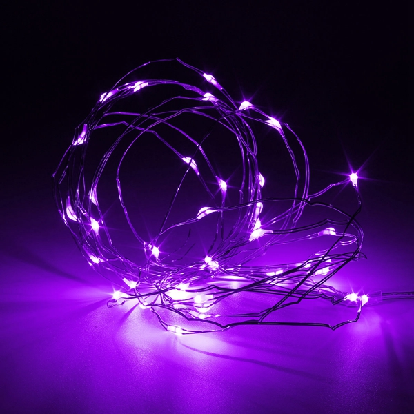 3M Waterproof LED Battery Mini LED Copper Wire Fairy String Light Holiday Light Party Christmas