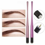 Permanent Eyebrow Micro Blading Manual Tattoo Pen Body Art Makeup Practice Tools