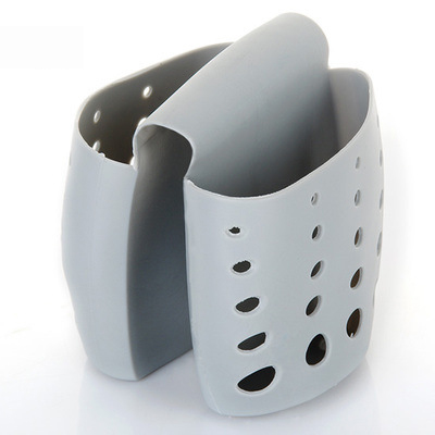Kitchen Portable Hanging Drain Bag Basket Bath Storage Gadget Tools Sink Holder Sink Rack