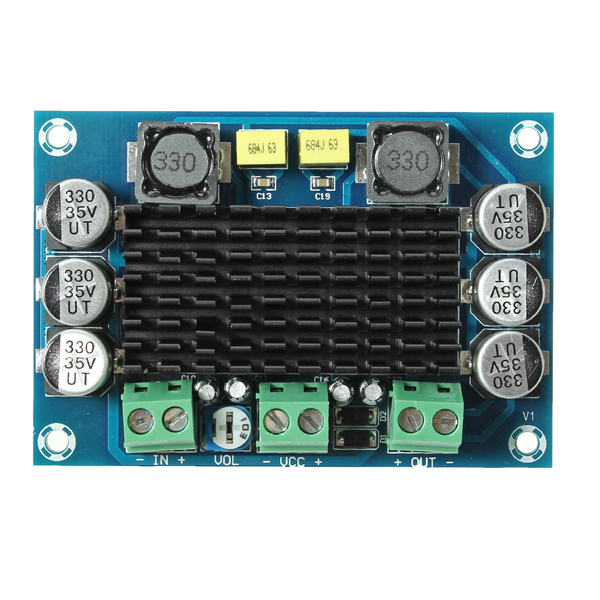 DC12-26V 100W Mono Digital Power Amplifier TPA3116D2 Digital Audio Amplifier Board