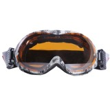 X3 SG-2 Double Anti-fog Lens Skate Ski Snowboard Goggles with Adjustable Non-slip Strap (Yellow)